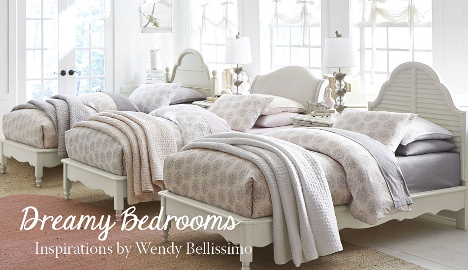 Dreamy Bedrooms - Inspirations by Wendy Bellissimo